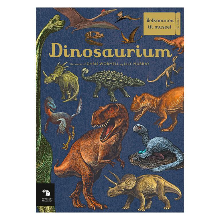 Velkommen til museet-Dinosaurim.-Forlaget-Mammut