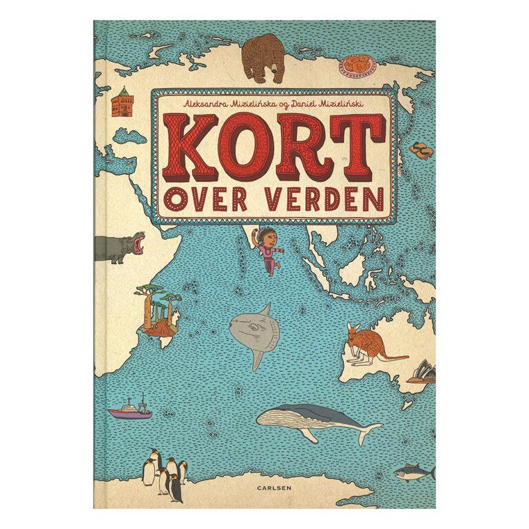 Bog.-Kort-over-Verden.-Forlaget-Carlsen