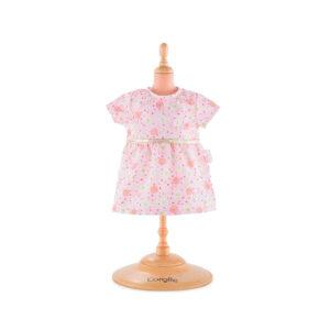 Corolle-kjole-Dress-Pink-30-cm
