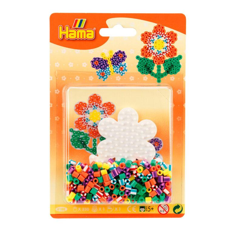 4188.-Hama-350-midi-perler-blomst.