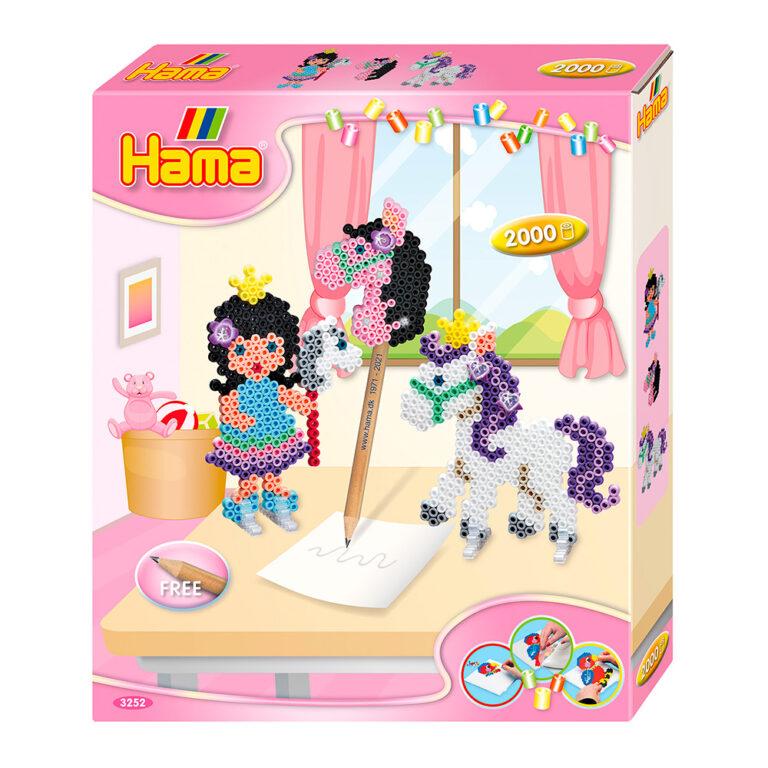 Hama-2000-midi-perler-hest