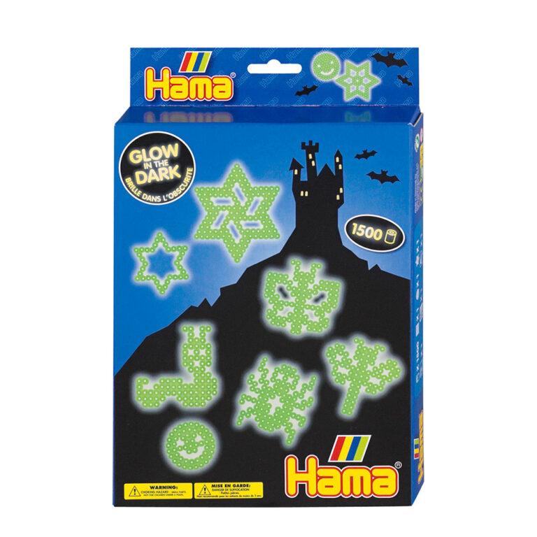 Hama.-Midi-perler.-Glow-in-the-dark