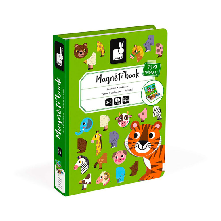 Janod-Magnetic-book-Animals