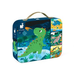 Janod-Puzzle-3aar-Dinosaur
