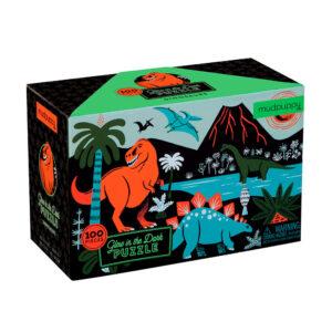 Mudpuppy-puslespil-lys-i-moerke-dinosaur