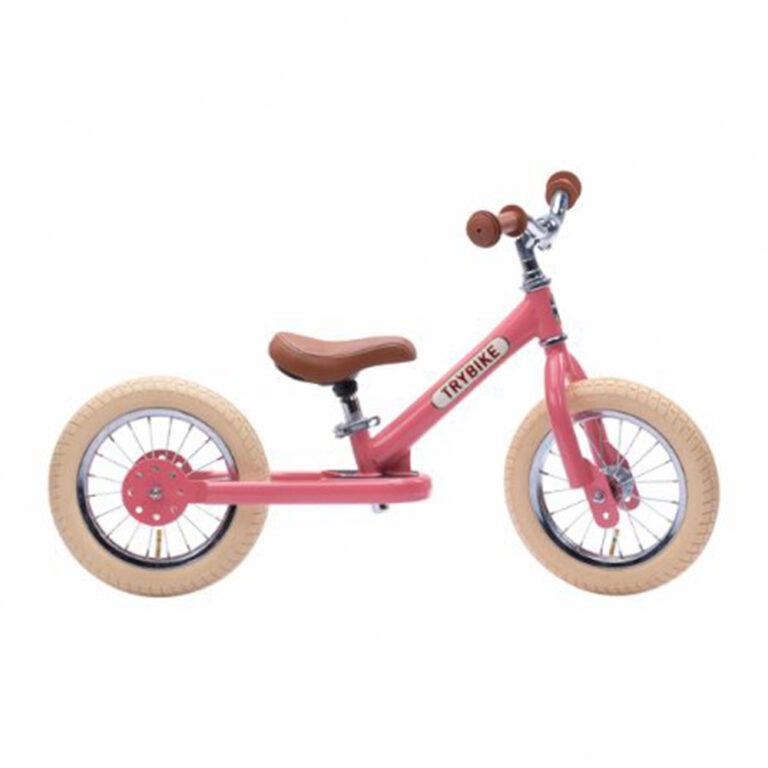 Trybike-2-hjul-Vintage-pink