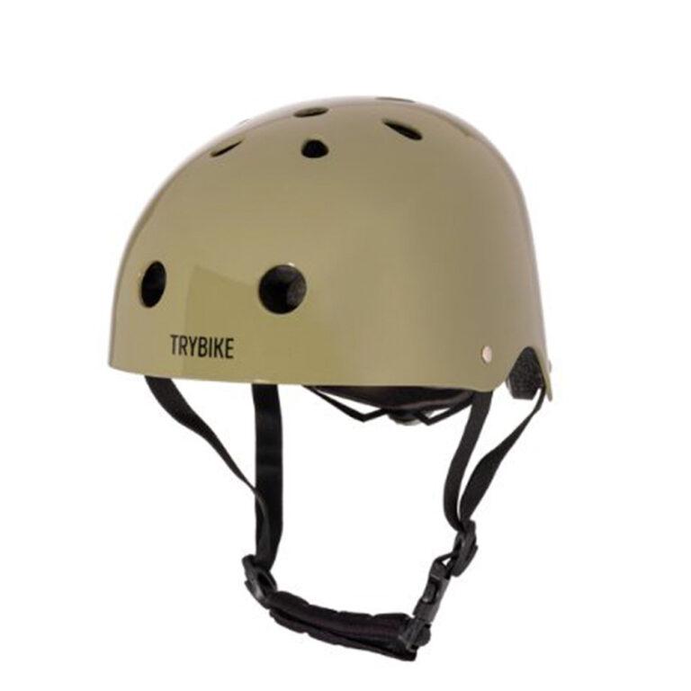 Trybike-cykelhjelm-groen