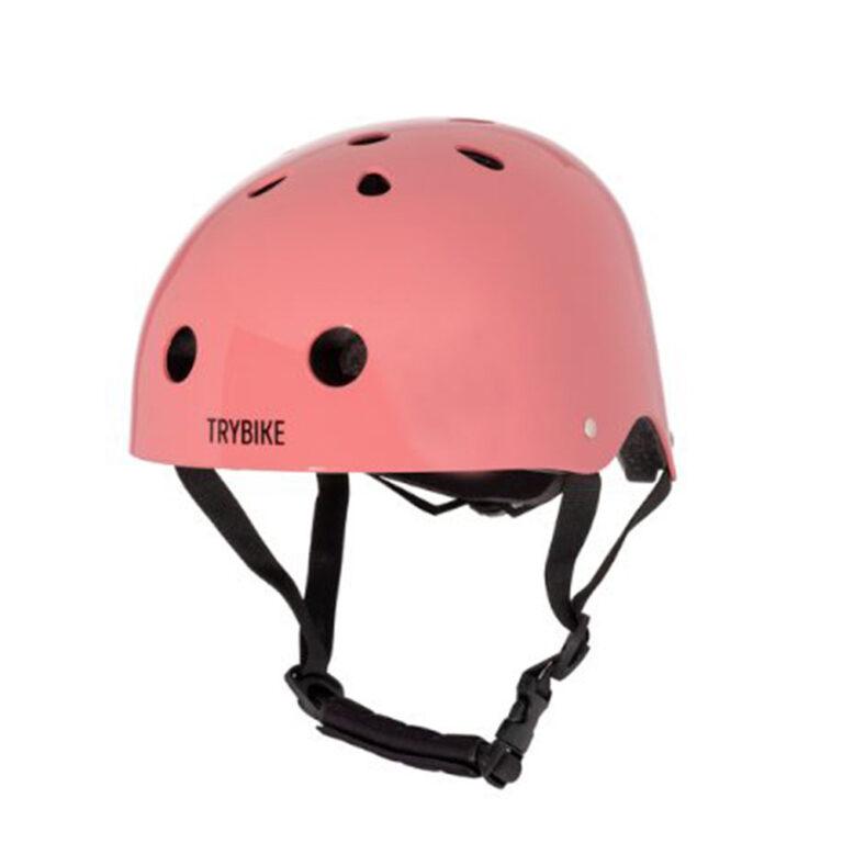 Trybike-cykelhjelm-rosa