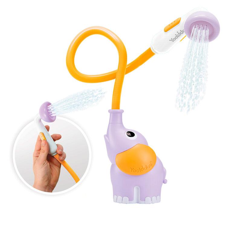 Yookidoo-elefant-bruser-lilla